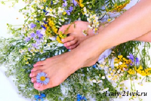 Ванночки для ног, уменьшающие потливость