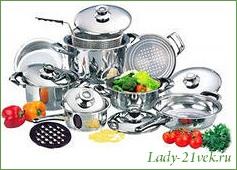 Кухонная и столовая посуда
